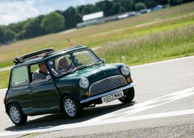 Start/finish line on the Top Gear track at Dunsfold