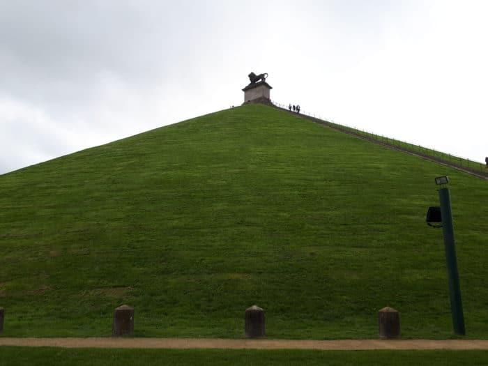 Butte du Lion, monument to the Battle of Waterloo