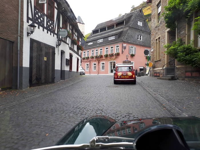 Following team 26 into the beautiful town of Bachenhurst