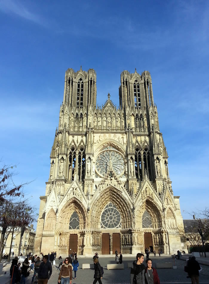 The astonishing Reims cathedral
